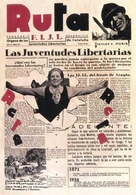 """periódico """"Ruta"""" 1938"""