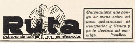 "periódico ""Ruta"" en Francia"
