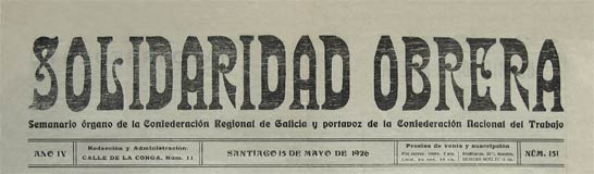 journal de galice solidaridad obrera
