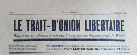 journal trait d'union libertaire