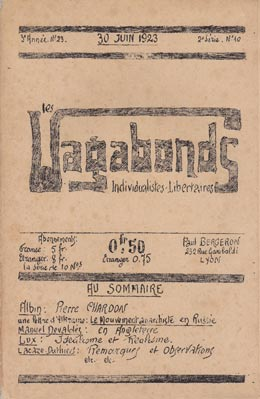 journal Les Vagabonds