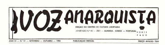 journal portugais voz anarquista