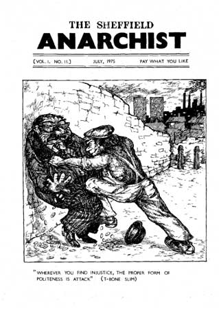 The Sheffield anarchist 1975