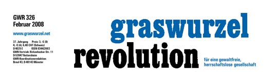 "journal ""Graswurzelrevolution"