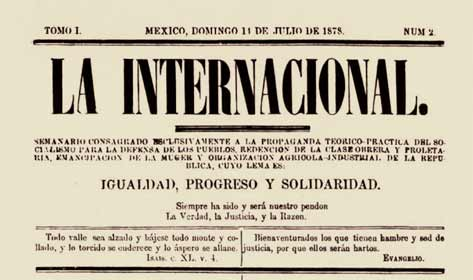 journal mexicain La Internacional