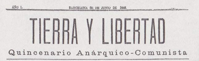 "journal ""Tierra y libertad"""